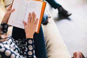 Stock Photo Reading a Book DeathtoStock